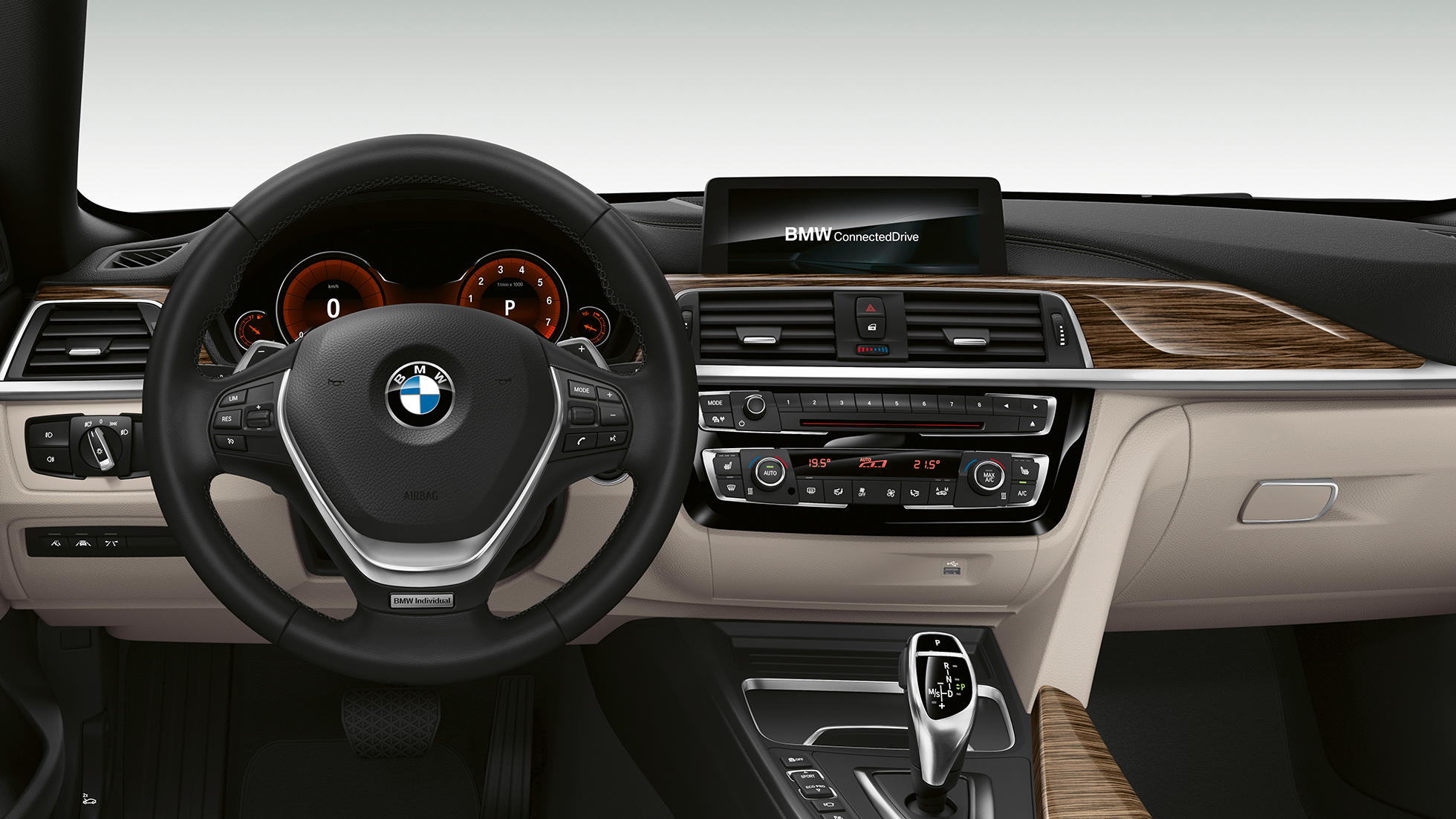 BMW 4 Série Gran Coupé, Model Luxury Line cockpit