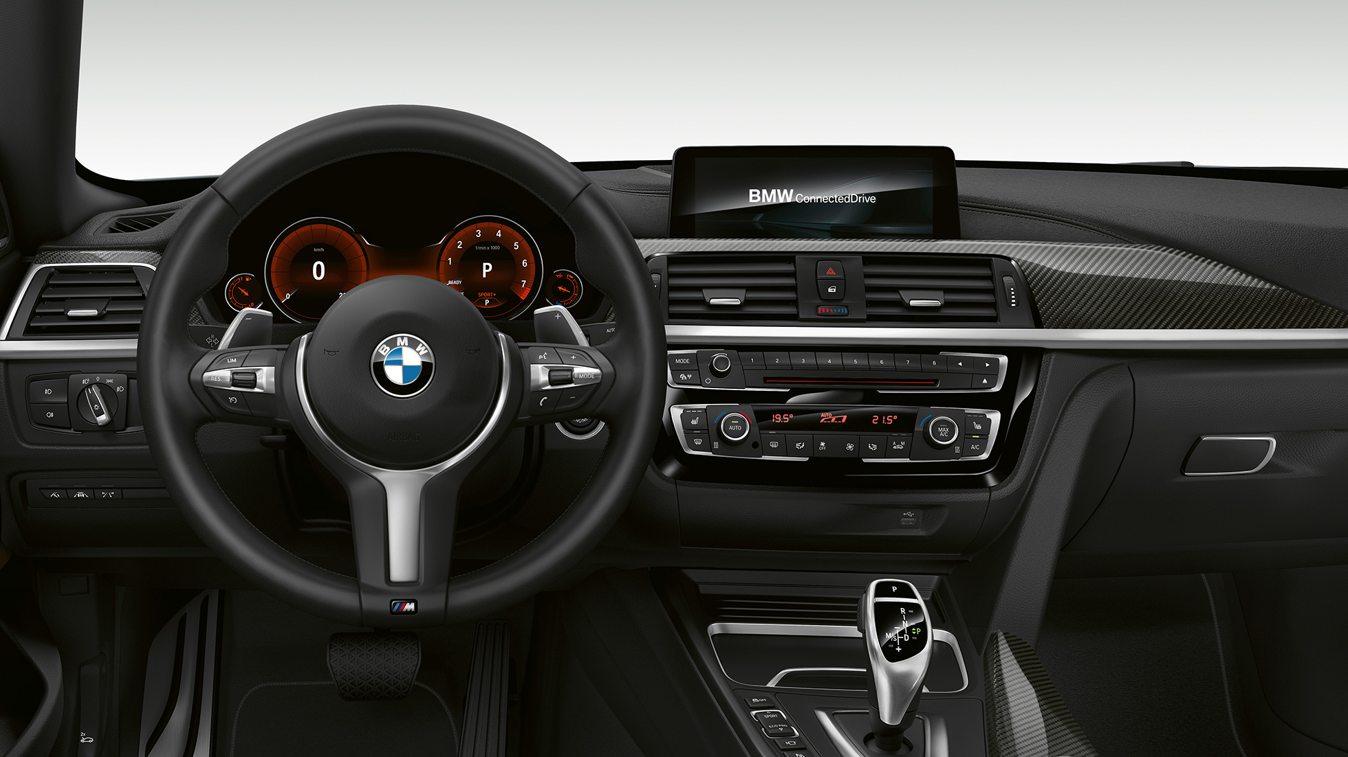BMW 4 Série Gran Coupé, Model M Sport cockpit