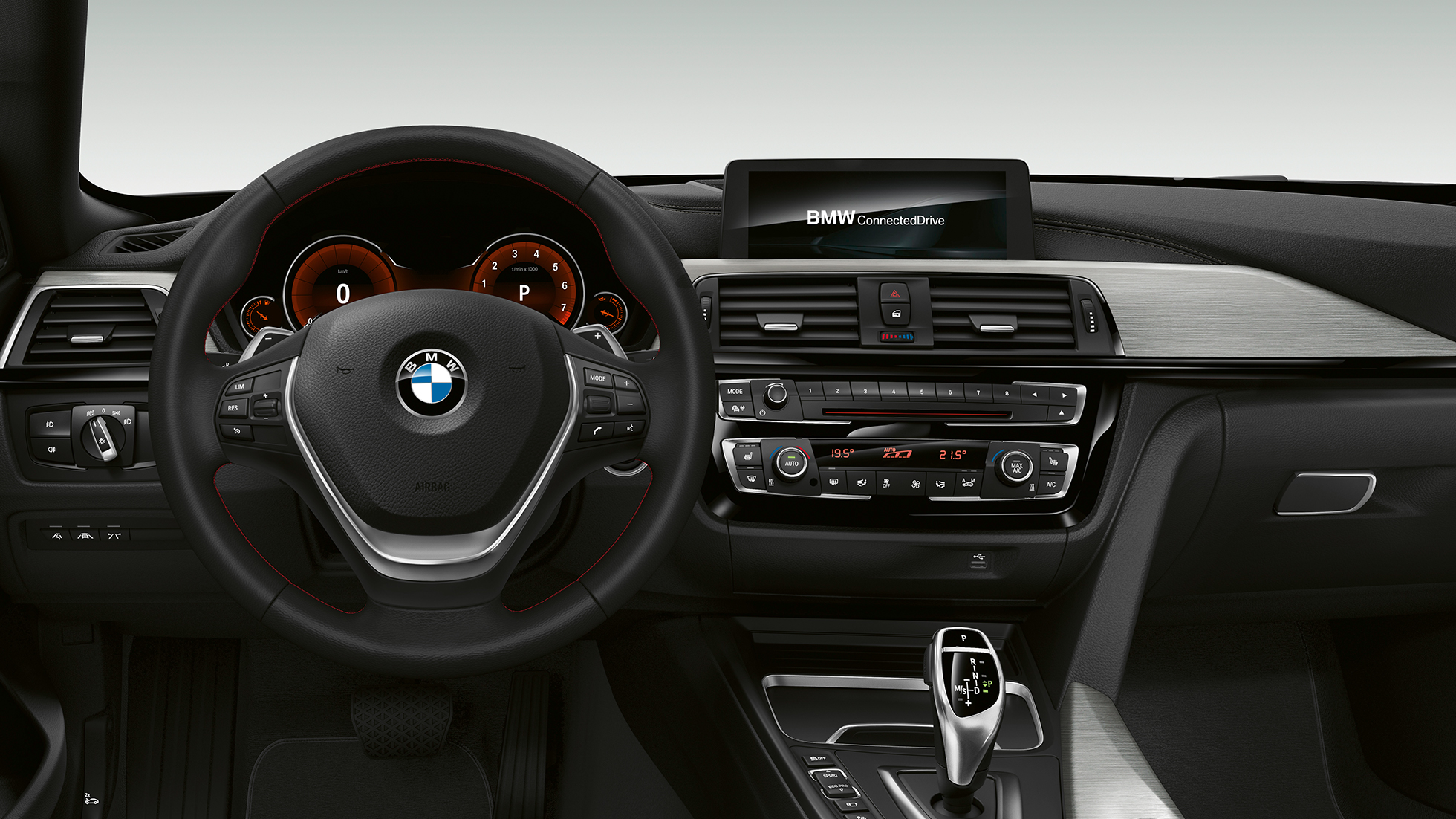 BMW 4 Série Gran Coupé, Model Sport Line cockpit